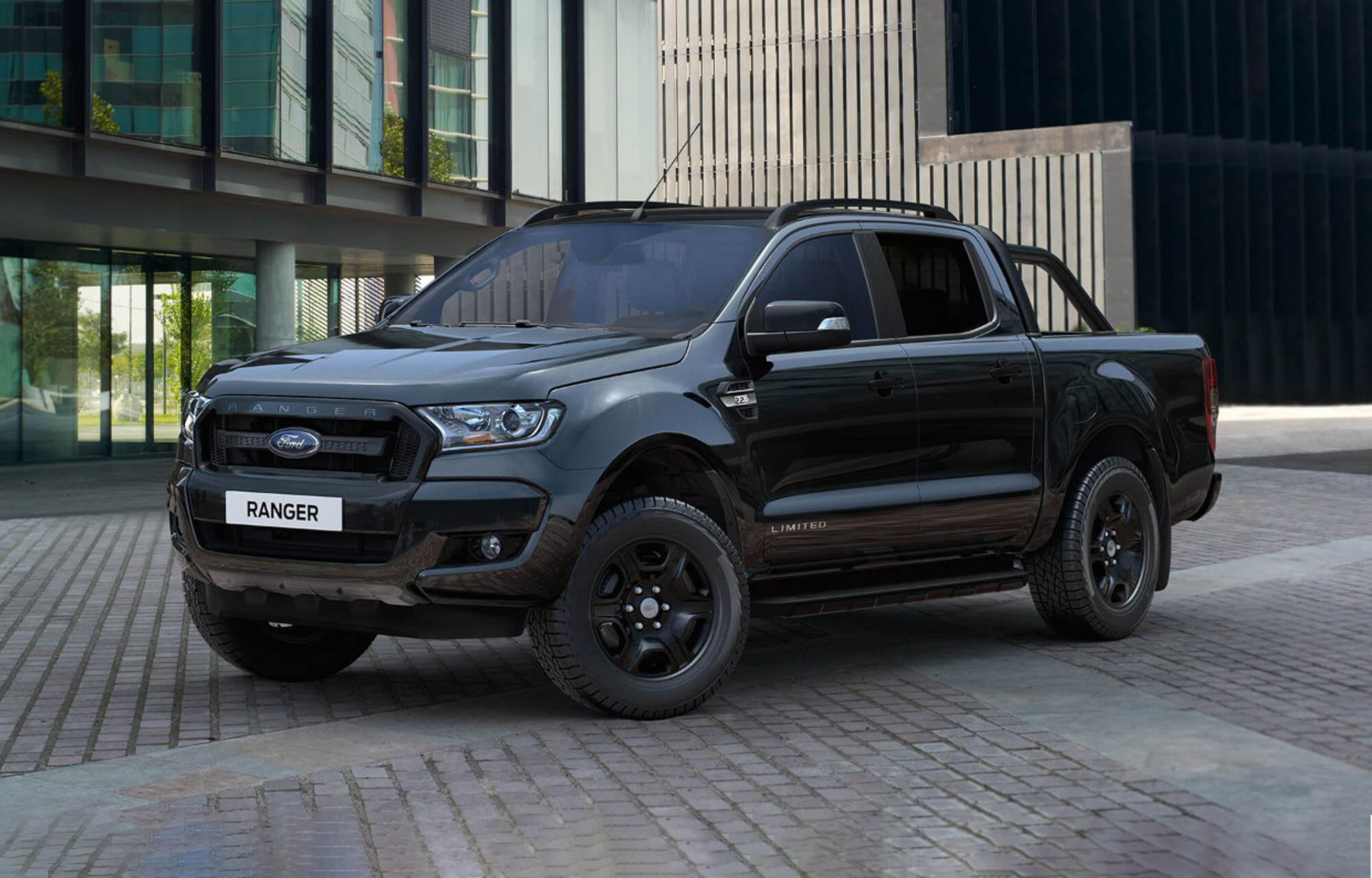 Nouvelle Ford Ranger Black Edition